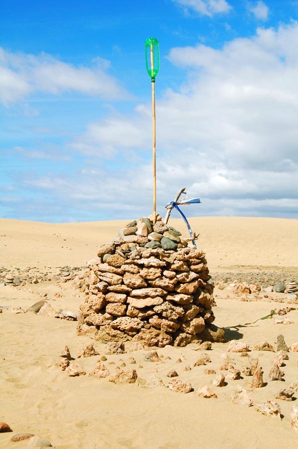 Kunst in der Wüste