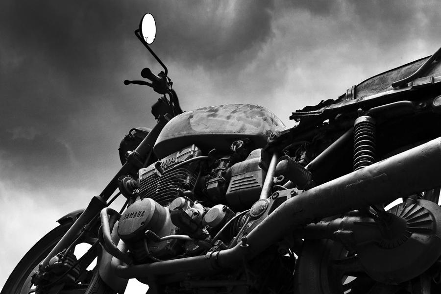 Motorradwrack