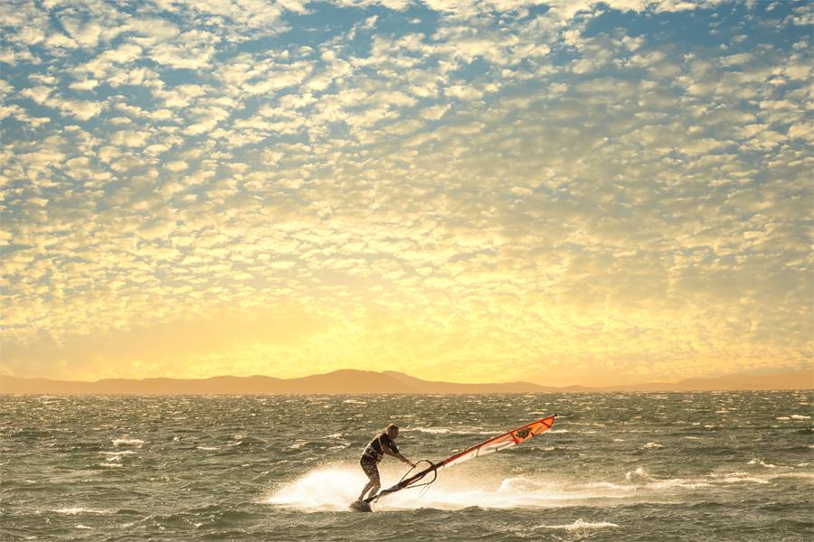 Windsurfen-Giens